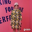 gozo 熱帶風情花朵印花洋裝(二色)