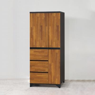 AS-艾莉西亞三抽衣櫥-79x55x196cm