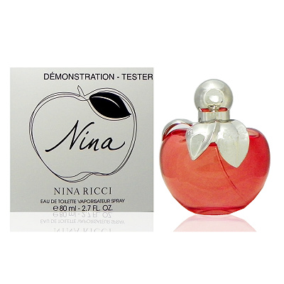 Nina Ricci Nina 蘋果甜心淡香水 80ml Test 包裝