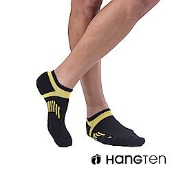 HANG TEN 船型氣墊機能襪3雙入組(男)_黃(HT-A23001)