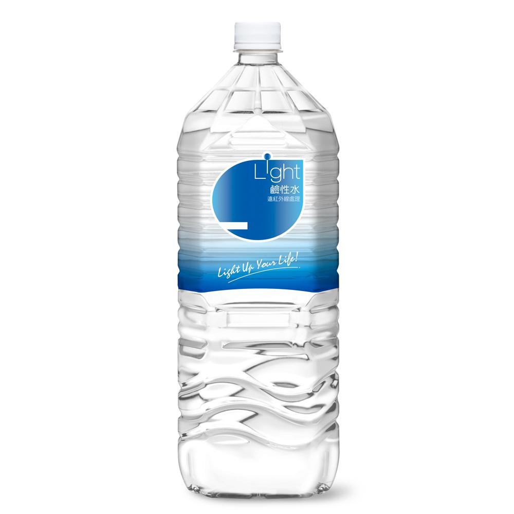 悅氏 light鹼性水(2200mlx8入)
