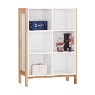 AS-愛德蒙2.7尺開放低書櫃-81x38x120cm