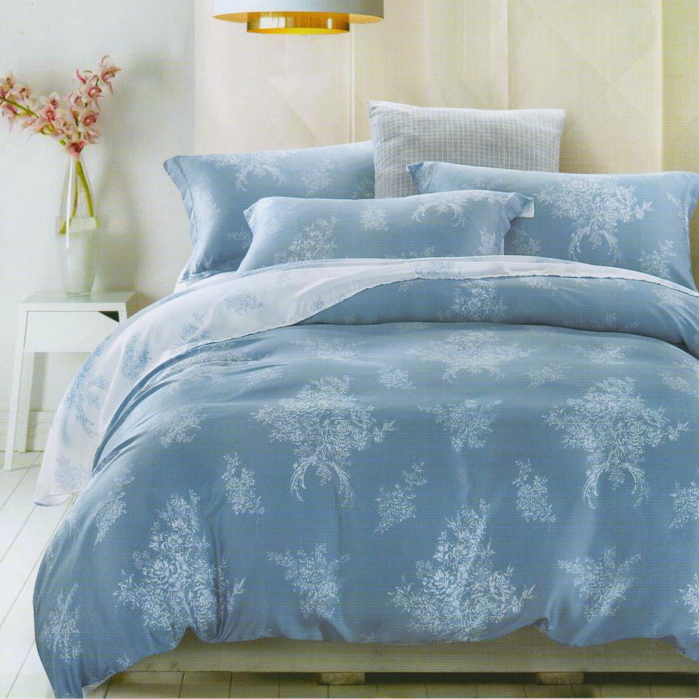 Saint Rose 凝馨 雙人100%純天絲兩用被套床包四件組