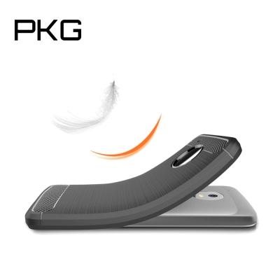 PKG MOTO G5 PLUS 抗震防摔保護殼(碳纖維紋系列-紳士黑)