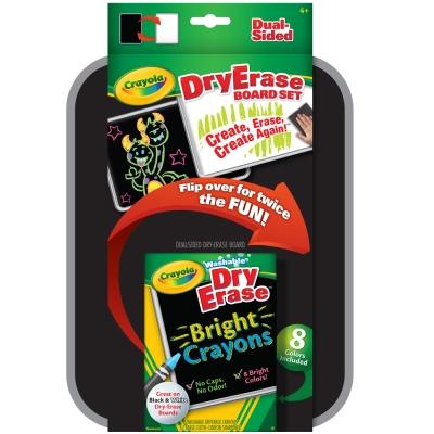 美國crayola 可水洗系列-可水洗雙面板蠟筆套裝(4Y+)