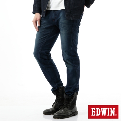 EDWIN-窄直筒-迦績褲剪接立體牛仔褲-男-中古