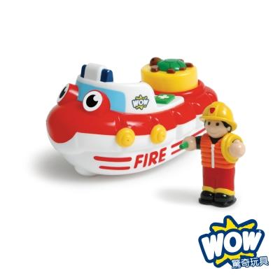 【WOW Toys 驚奇玩具】滅火快艇 費里克斯