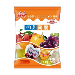晶晶 心型椰果蒟蒻果凍-綜合口味(400g)
