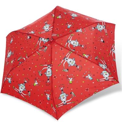 rainstory馬戲團抗UV輕細口紅傘