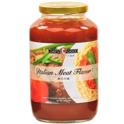美味大師 義大利麵醬-義式肉醬(720g)