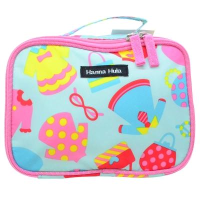 日本Hanna Hula 多用途隨身包-可裝衣物/尿片(洋裝藍)