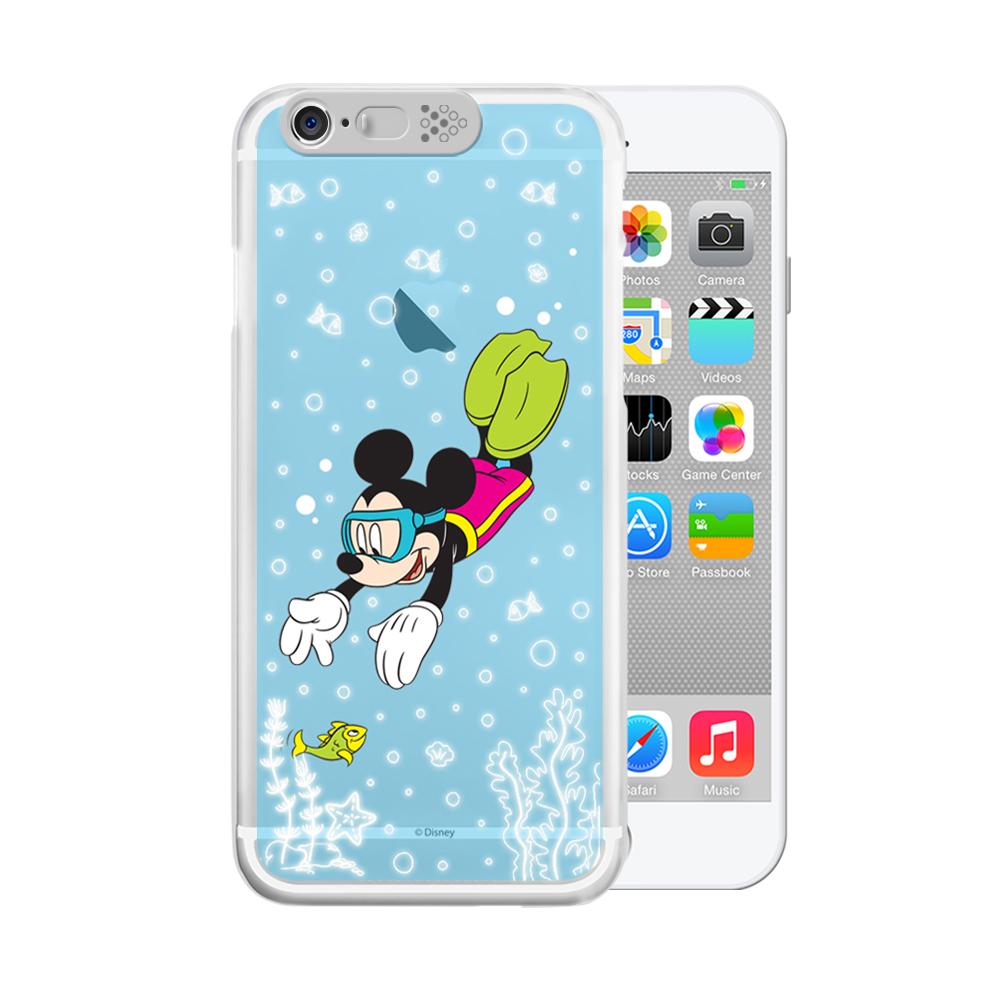 OPENBOX iPhone 6/6S 4.7 可愛爆閃手機殼-潛水米奇
