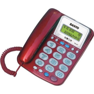 三洋 SANYO 來電顯示有線電話 TEL-817