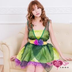 角色扮演 森靈花仙 童話表演派對小禮服(綠F) AngelHoney天使霓裳