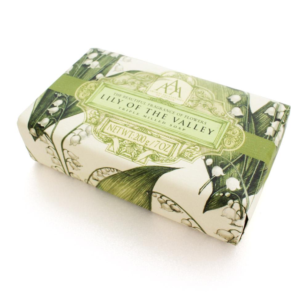 AAA 英國古典花香精油香皂200g(山百合)