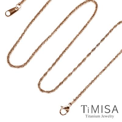 TiMISA 秘密-細版 純鈦項鍊SSB(雙色可選)