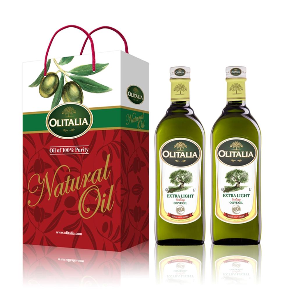 Olitalia奧利塔 精製橄欖油禮盒組(1000mlx2)