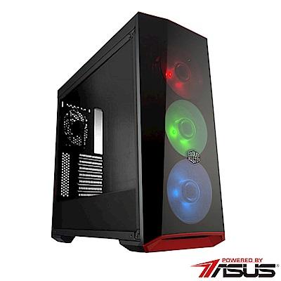 華碩B360平台【武聖英雄】i7六核GTX1070TI獨顯SSD電玩機