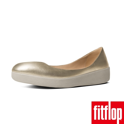 FitFlop TM-SUPERBALLERINA TM LEATHER淡金