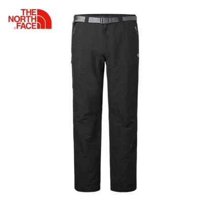 The North Face北面男款灰色輕薄透氣戶外登山長褲