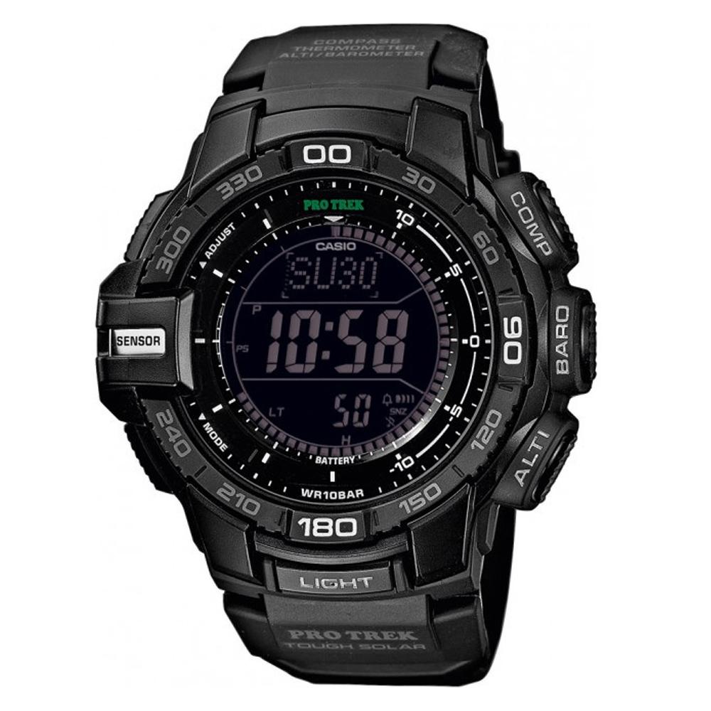 PROTREK 創新技術新三大感應器模組專業登山錶(PRG-270-1A)-黑/52.4mm