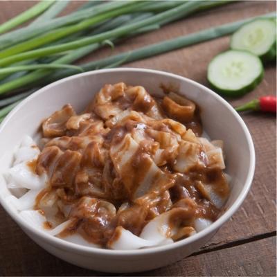 栗園米食 花生麻醬粄條(5入/袋)