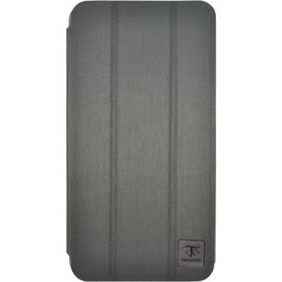 Metal-Slim Samsung Galaxy J  髮絲紋三折立架式皮套