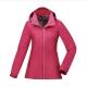 【ATUNAS 歐都納】女款防水GORE-TEX輕量風衣外套A-G1728W紫紅 product thumbnail 1
