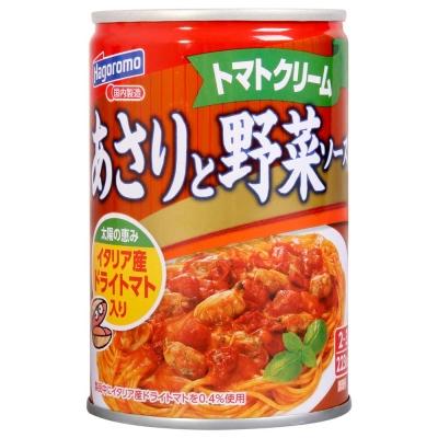 Hagoromo 麵醬罐-蛤蠣蕃茄野菜(290g)