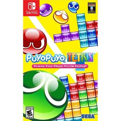 魔法氣泡俄羅斯方塊 Puyo Puyo Tet -Nintendo Switch 英文美版