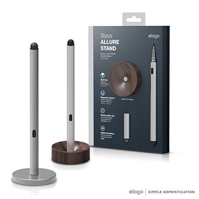 elago Allure 鋁合金觸控筆加底座