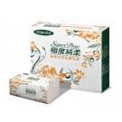 Superpure極度純柔抽取式花紋衛生紙100抽10包/串