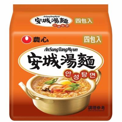 農心 安城湯麵(125gx4入)