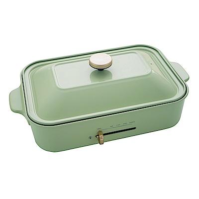 綠恩家enegreen日式多功能烹調烤爐(田園綠)KHP-7 70TG