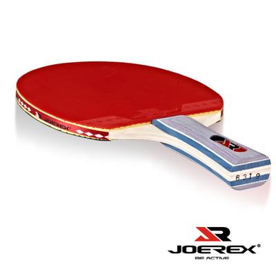 日本品牌【JOEREX】初級選手長柄乒乓球拍/桌球拍6319(附炫彩拍袋)-2入1組