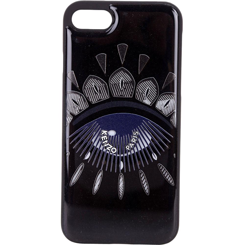KENZO Nagai Eye iPhone 7/8 眼睛圖騰塑料手機殼(黑色)