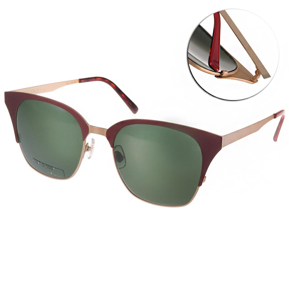 STEALER太陽眼鏡 韓系貓眼款/紅-金#SLDARK NIGHT C12