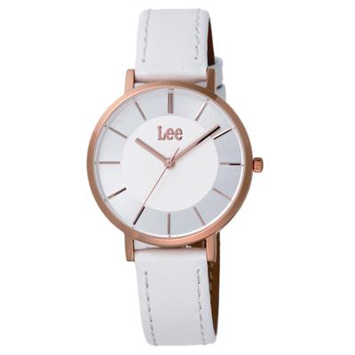 Lee 魅力無限時尚女錶-LEF-F107DRL7-7R/32mm