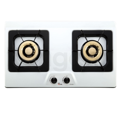 喜特麗-JT-2102-檯面式琺瑯面板二口瓦斯爐