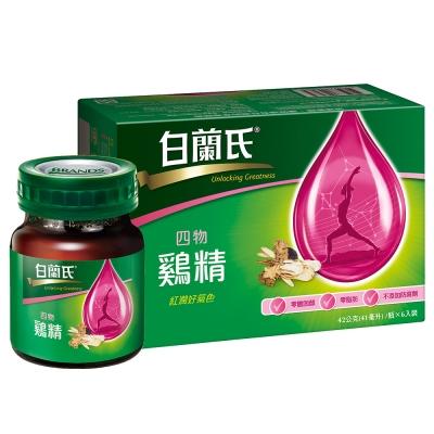 白蘭氏 四物雞精 4盒組(42g/瓶 x 6瓶 x 4盒)