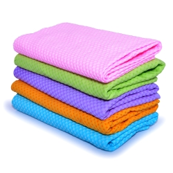 【耐久美】馬卡龍繽紛彩虹超吸力鹿皮擦拭巾 美容清潔 頭髮吸水布 車用清潔抹布