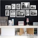 TROMSO風格純白相框牆10框組/紐約白