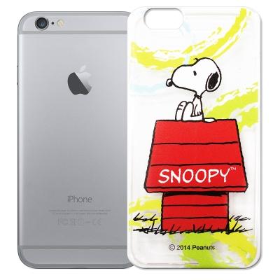 史努比 iphone 6 /6s  透明軟式手機殼 自由款