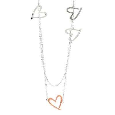 Calvin Klein CK Joyous 繽紛愛心造型長鍊