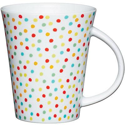 KitchenCraft 馬克瓷杯(點點彩)