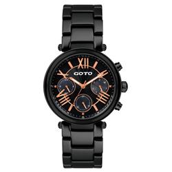 GOTO  流祈願星時尚陶瓷腕錶-GC0052M-33-341/39mm