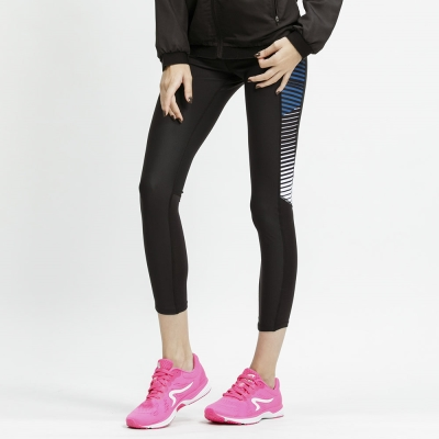 【ZEPRO】女子LEVELS 玩美緊身運動褲-舒適白