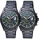 WIRED x 進擊的巨人 里維Ⅱ 限量計時聯名對錶-38mm