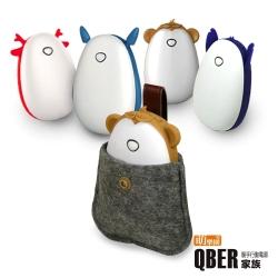 【QBER】萌寵暖手行動電源4500mAh(台灣BSMI