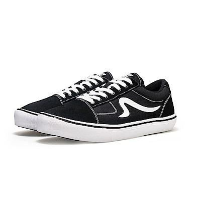 【ZEPRO】女子STACKS DX系列輕量休閒鞋-經典黑